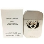 Gucci Guilty Platinum EDT 75ml TESTER (ORIGINAL)